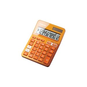 Canon LS-123K-MOR pocket calc. Orange