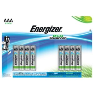Energizer Eco Advanced AAA/LR3 (8-pack)