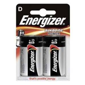 Energizer Power D/LR20 (2-pack)