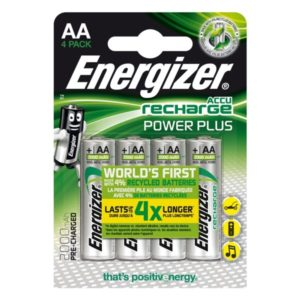 Energizer Rech Power Plus AA 2000 mAh (4-pack)