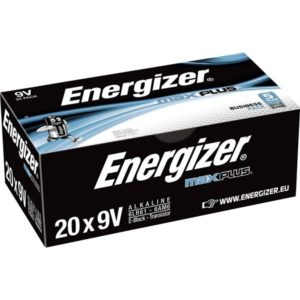 Energizer Max Plus 9v/522 (20-pack)