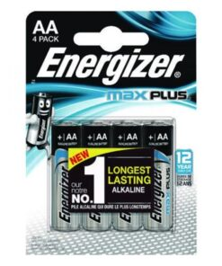 Energizer Max Plus AA/E91 (4-pack)