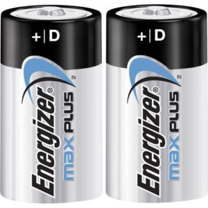 Energizer Max Plus D/E95 (2-pack)