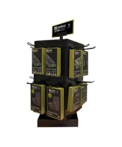 Counter Display 4-sided Rotate