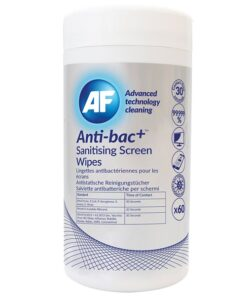 Anti-bac+ Sanitising Screen Cleaning Wipes (70%)