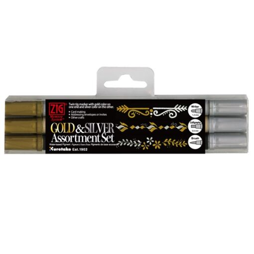 Zig Twin tip gold and silver 3-set